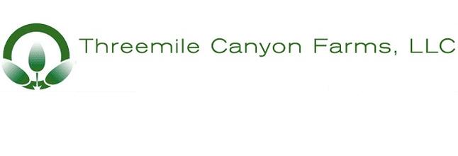 Three Mile Canyon Farms Logo